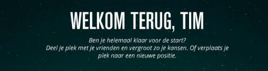 KLM Space Flight contentmarketing