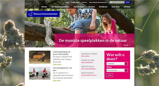 website natuurmonumenten