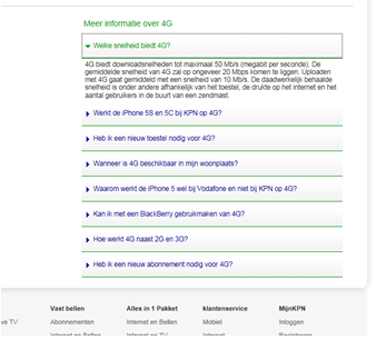 KPN FAQ