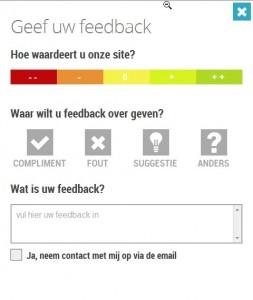 Mopinion feedbacktool