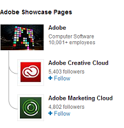 Adobe showcasepage sidebar