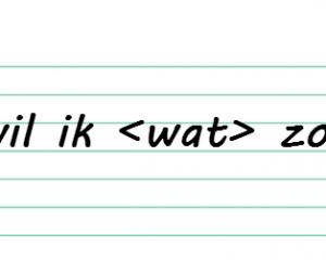 Formule voor een user story op lijntjespapier