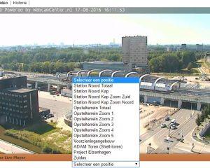 Webcams laten de Noord-Zuidlijn extra leven