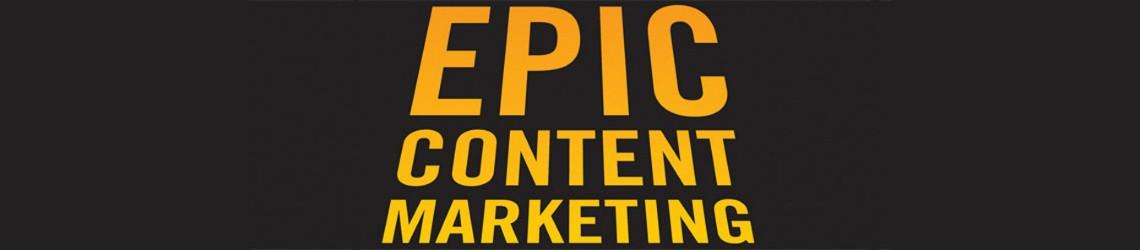 Cover van boek Epic Content Marketing van Joe Pulizzi