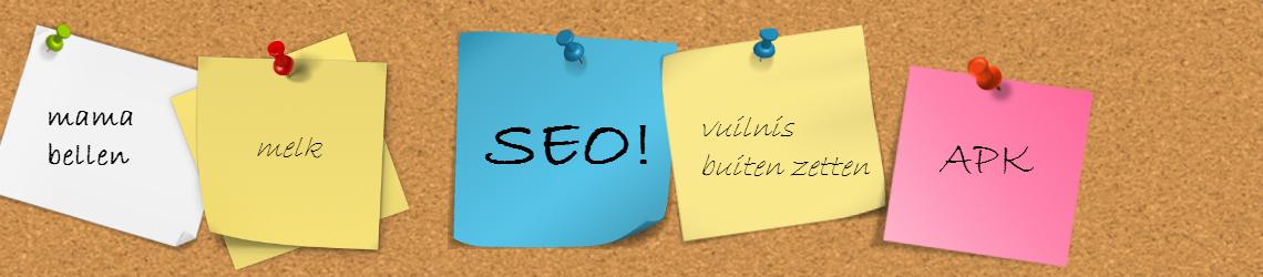 Vergeet SEO niet binnen je contentmarketing