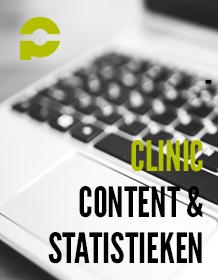 Clinic Content en statistieken