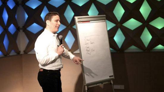 Rick Yagodich over taxonomie tijdens ContentCafé #10
