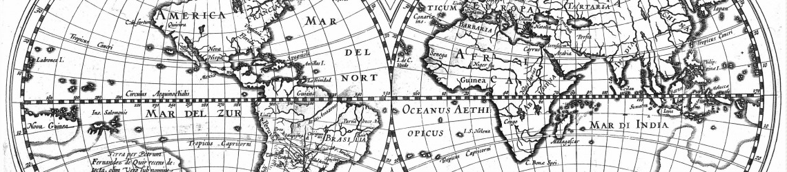 Hessel Gerritsz: Worldmap of 1612 including the discovery of La Austrialia del Espiritu Santo by Pedro Fernandes de Queir
