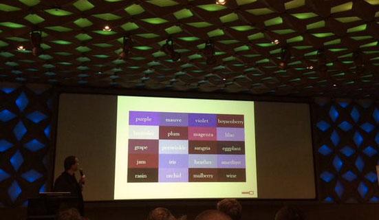 Tim Manders over taxonomie tijdens ContentCafé #10 Foto: @contentcafe.