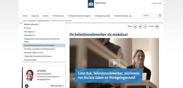 Website Werken voor Nederland