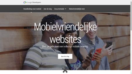Handleiding mobielvriendelijke websites