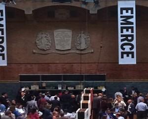 Emerce event in Beurs van Berlage, Amsterdam