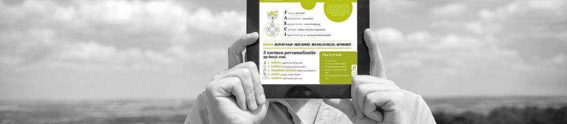 FASCI-model online personalisatie op tablet