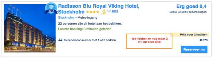 Een hotel in Stockholm op Booking.com
