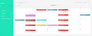 Kalenderoverzicht Contentkalender