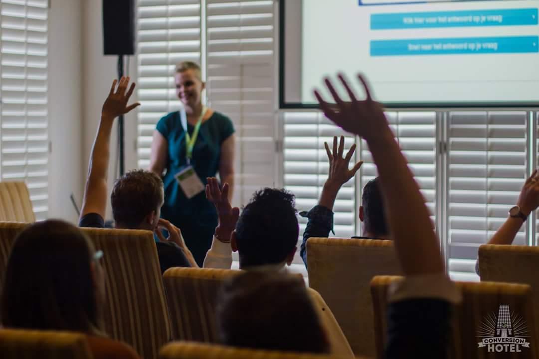 Femke Koning op Conversion Hotel: Content matters
