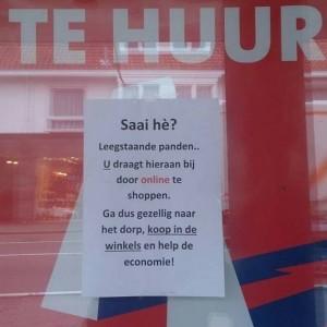 Leegstaande winkelpanden: de schuld van de klant of de ondernemer?