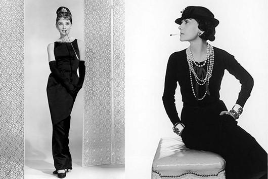 La petite robe noire van Coco Chanel. Groot geworden door eenvoudig te blijven.