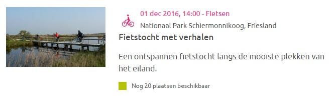 Natuurmonumenten.nl gebruik een foto van een activiteit bij agenda item