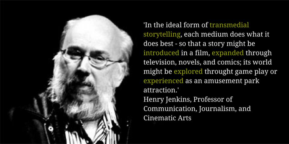 Henry Jenkins transmedia storytelling quote