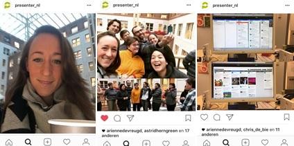 Overzicht van 3 posts op Instagram