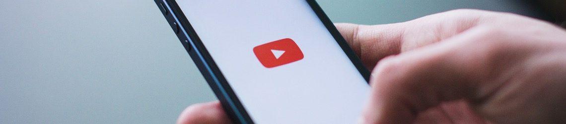 YouTube-video op mobiel