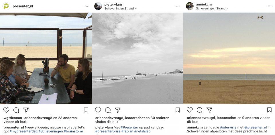 Instagram posts social media ambassadeurs en bedrijfskanaal