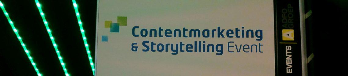Contentmarketing en Storytelling event 2017