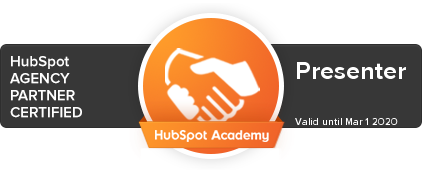 Presenter is Hubspot Agency Partner
