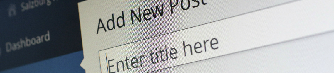 close-up invoegen nieuwe blog wordpress