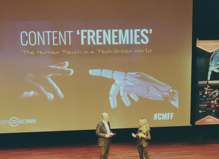 Kunstmatige intelligentie: vriend of vijand? Die vraag stond centraal tijdens Content Marketing Fast Forward
