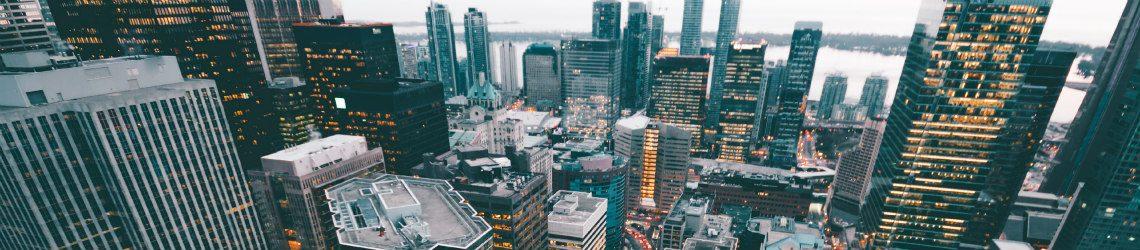 Skyline financiële branche